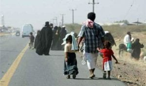 منع وصول النازحين من محافظة الحديدة الى مدينة عدن